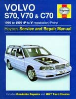 Haynes Workshop Repair Manual Volvo S70 V70 C70 96 - 99